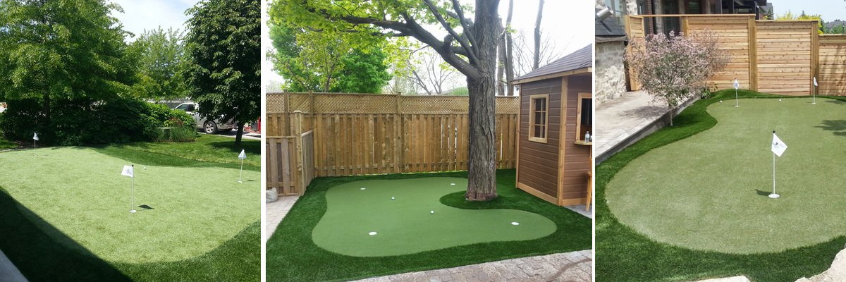 Greeside Turf Synthetic Putting Greens